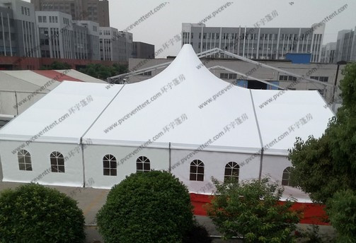 Shaped Customized Mixed Outdoor Event Tent
